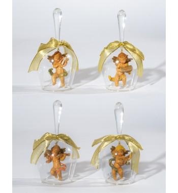 0130062c9c7 Surtido 4 campanas de vidrio soplado (V5) 15 cm. - Adornos navideños