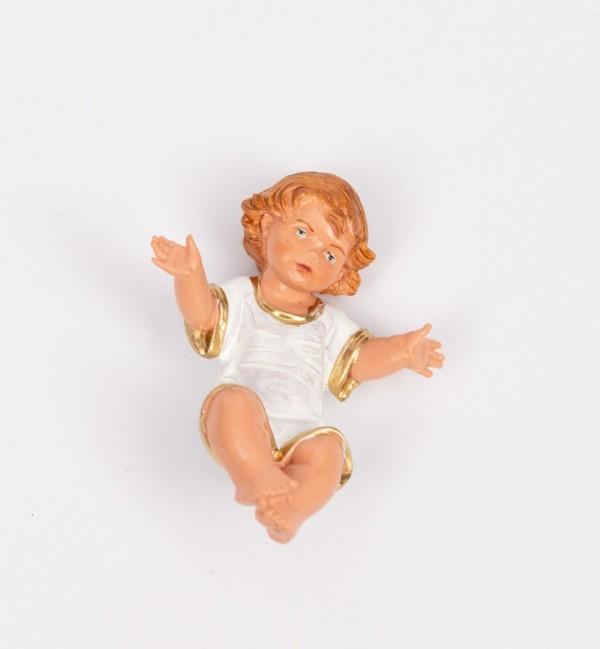 Niño para belén en color tradicional, 19 cm.