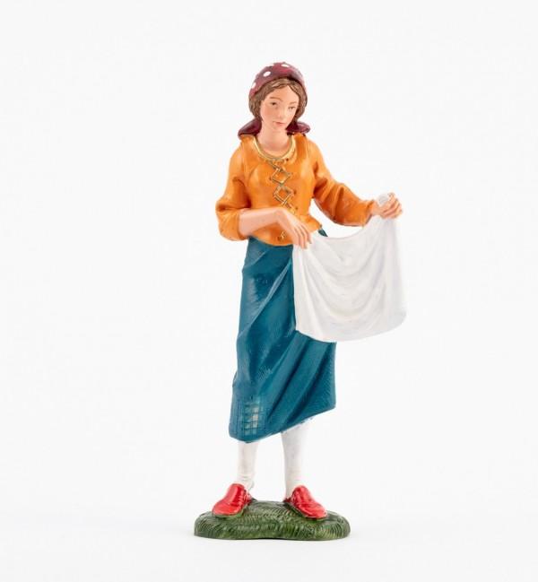 Pastorcita (328) para belén en color tradicional, 19 cm.