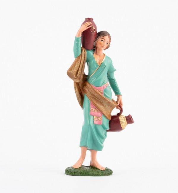 Pastorcita (345) para belén en color tradicional, 19 cm.