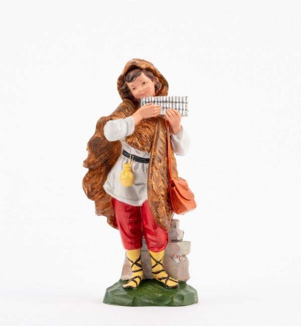 Pastor (346) para belén en color tradicional, 19 cm.