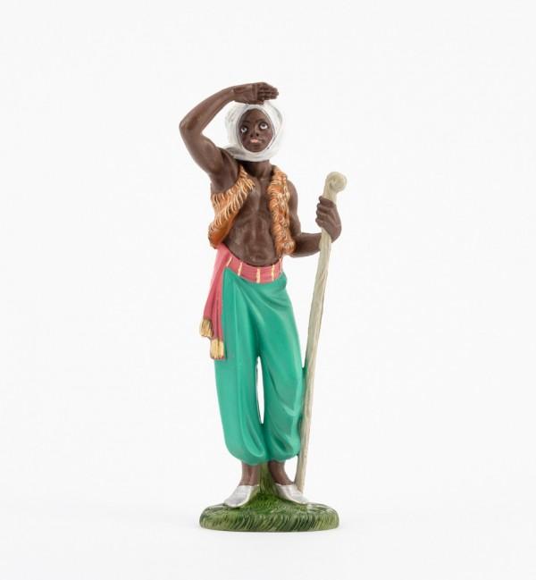 Pastor (352) para belén en color tradicional, 19 cm.