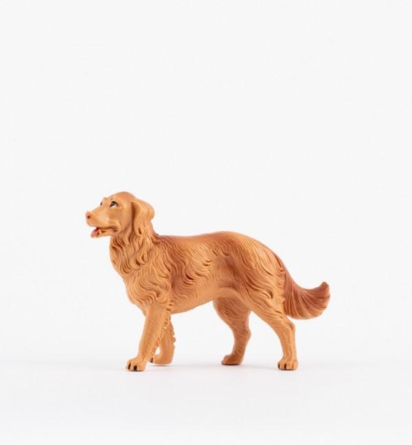 Perro para belén en color tradicional, 19 cm.
