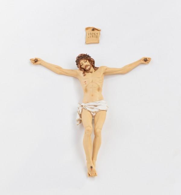 Cuerpo de Cristo de resina  n.10 50 cm