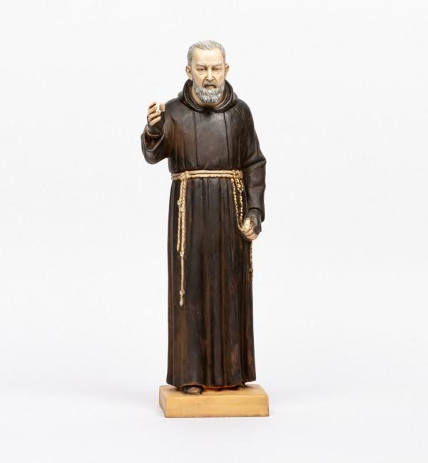 Padre Pío de resina  50 cm