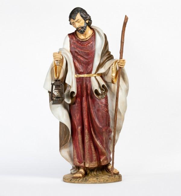 San José  de resina  para belén 180 cm